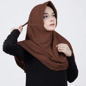 hijab bahan kaos