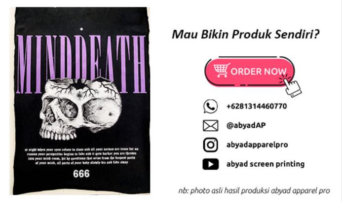 jasa sablon kaus Jakarta